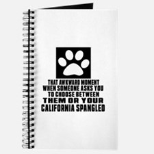 Awkward California Spangled Cat Designs Journal