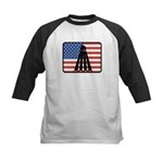 American Badminton Kids Baseball Jersey