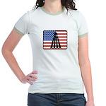 American Badminton Jr. Ringer T-Shirt