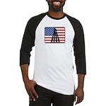 American Badminton Baseball Jersey