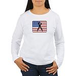 American Awareness Women's Long Sleeve T-Shirt