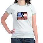 American Awareness Jr. Ringer T-Shirt