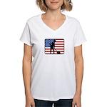 American Archaeology Women's V-Neck T-Shirt