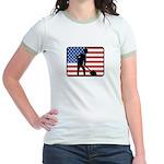 American Archaeology Jr. Ringer T-Shirt