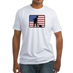 American Archaeology Fitted T-Shirt