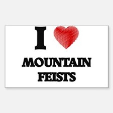 I love Mountain Feists Decal
