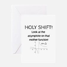 Holy Shift! Greeting Cards