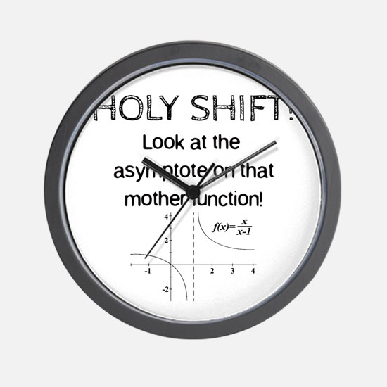 Holy Shift! Wall Clock