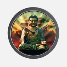 Buddha Sunrise Wall Clock