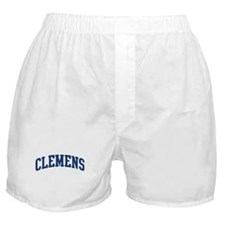 CLEMENS design (blue) Boxer Shorts
