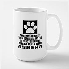 Awkward Ashera Cat Designs Large Mug