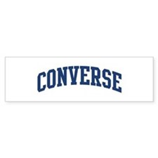 CONVERSE design (blue) Bumper Bumper Sticker