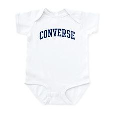CONVERSE design (blue) Infant Bodysuit