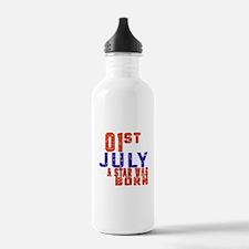 1 July A Star Was Born Water Bottle