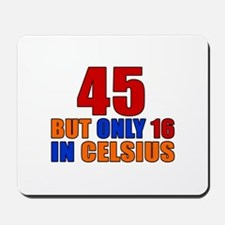 45 But Only 16 In Celsius Mousepad