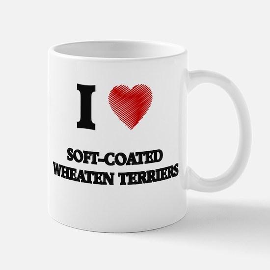 I love Soft-Coated Wheaten Terriers Mugs