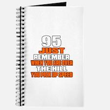 95 Just Remember Birthday Designs Journal