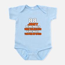 88 Just Remember Birthday Designs Infant Bodysuit