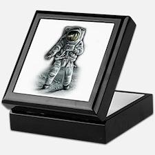 Astronaut Moonwalker Keepsake Box