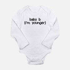 baby b (i'm younger) Body Suit