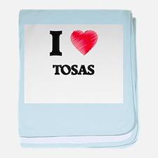 I love Tosas baby blanket