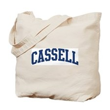 CASSELL design (blue) Tote Bag