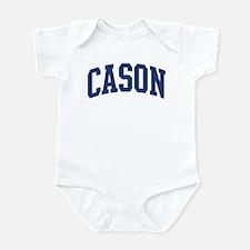CASON design (blue) Onesie