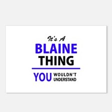 It's BLAINE thing, you wo Postcards (Package of 8)