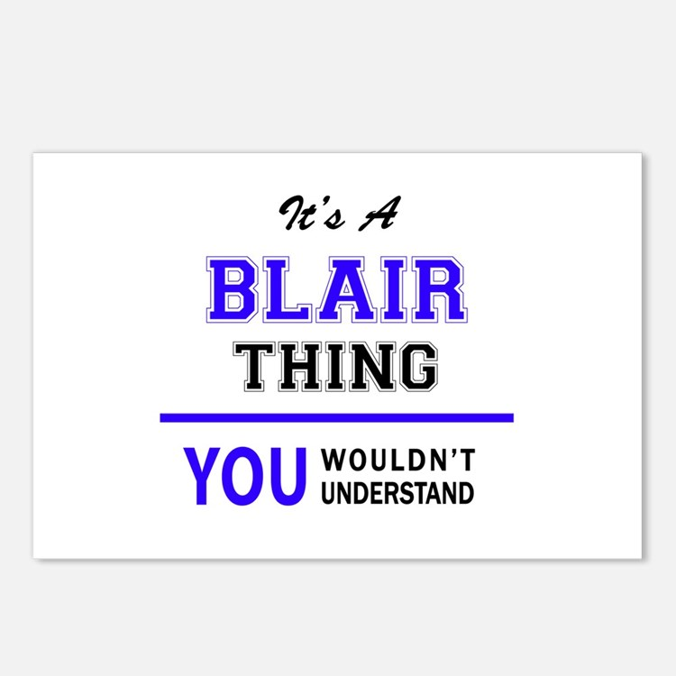 It's BLAIR thing, you wou Postcards (Package of 8)