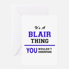 It's BLAIR thing, you wouldn't unde Greeting Cards