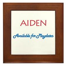 Aiden - Available for Playdat Framed Tile