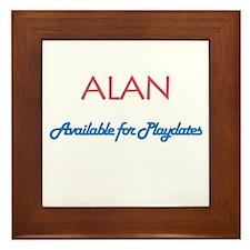 Alan - Available for Playdate Framed Tile