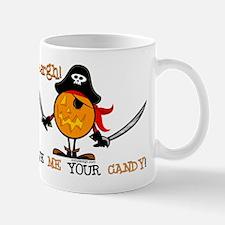 Halloween Pumpkin Pirate Mug