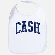 CASH design (blue) Bib