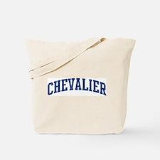 CHEVALIER design (blue) Tote Bag