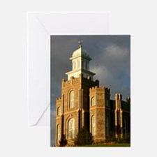 Logan temple Greeting Cards