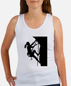 Climbing woman girl Women's Tank Top