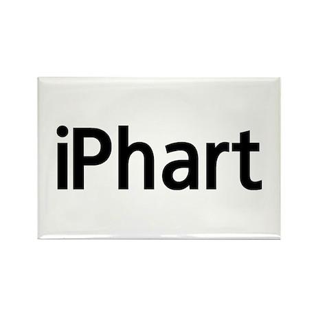 iPhart Rectangle Magnet