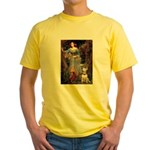 Ophelia / Bull Ter Yellow T-Shirt