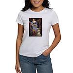Ophelia / Bull Ter Women's T-Shirt
