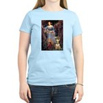 Ophelia / Bull Ter Women's Light T-Shirt