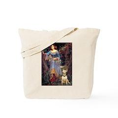 Ophelia / Bull Ter Tote Bag