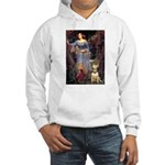 Ophelia / Bull Ter Hooded Sweatshirt