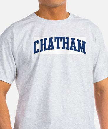 CHATHAM design (blue) T-Shirt