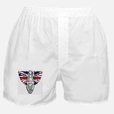 British Iron Motorcycle Boxer Shorts