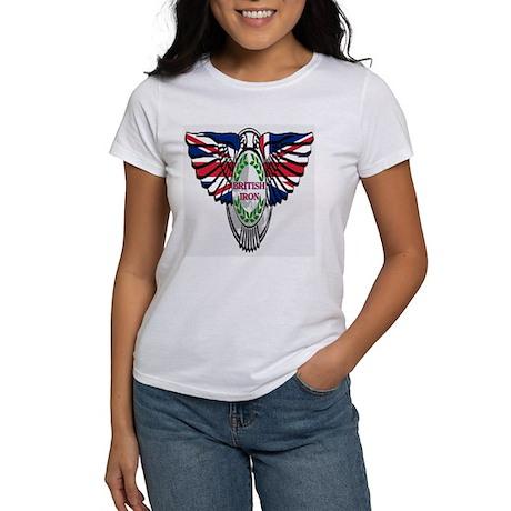 British Iron Motorcycle Women's T-Shirt