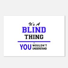 It's BLIND thing, you wou Postcards (Package of 8)