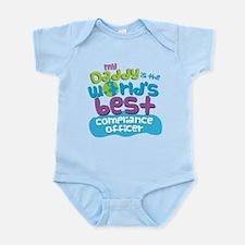 Compliance Officer Gifts for Kids Infant Bodysuit