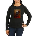 Lincoln / Cocker Women's Long Sleeve Dark T-Shirt
