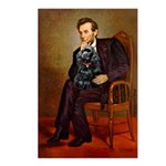 Lincoln / Cocker Postcards (Package of 8)
